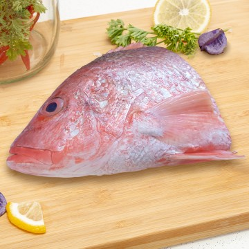 Red Snapper Head 红鸡鱼头 (800g-1kg before processing)