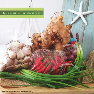 Basic Essential Ingredient Pack 基本必用食材包 (5 items)