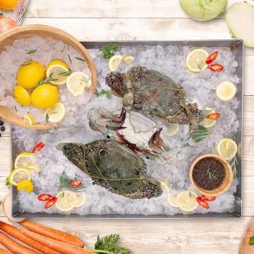 Flower Crabs 花蟹 (1kg, 2-4crabs)