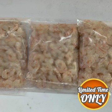 PROMOTION! Frozen Wild Small Prawn Meat 冰冻小虾肉 (Approx 300g)