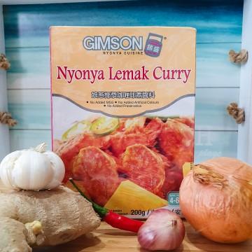 GIMSON Nyonya Lemak Curry (200g)