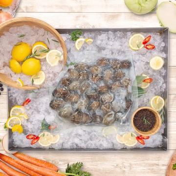 Korea clams 韩国啦啦 (1 pack, 500g)